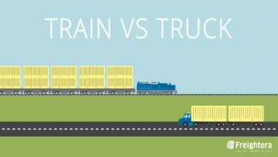 Photo of Comparing The Costs Of Rail Shipping Vs Truck